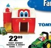 Blain's Farm and Fleet Tomy Johnny Tractor & Buddy Barn