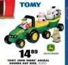 Blain's Farm and Fleet Tomy John Deere Animal Sounds Hay Ride