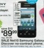 Kmart Thanksgiving Net10 Samsung Galaxy Discover No-contract Phone