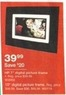"Staples HP 10"" Digital Picture Frame"