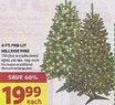 Michaels 4-Ft. Pre-Lit Hillside Pine Tree