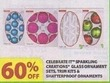 Michaels Celebrate It Sparkling Creations Glass Ornaments Sets, Trim Kits & Shatterproof Ornaments