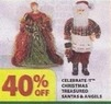 Michaels Celebrate It Christmas Treasured Santa & Angels