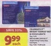 Michaels Celebrate It Bright Tidings Net & Icicle Lights