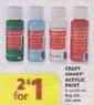 Michaels Craft Smart Acrylic Paint