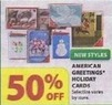 Michaels American Greetings Holiday Cards