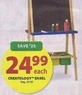 Michaels Creatology Easel
