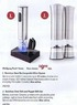 Sam's Club Wolfgang Puck Stainless Steel Salt & Pepper Mill Set