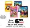 Blain's Farm and Fleet Curious George DVD