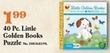Mills Fleet Farm 40pc Little Golden Books Puzzle