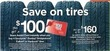 Sears Free GC w/ Purchase of Goodyear, Dunlop, Bridgestone, Falken or Hankook Tires