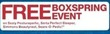 Sears Free Box Spring With Sealy Posturepedic, Serta Perfect Sleeper, SImmons Beautyrest, Sears-O-Pedic