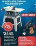 Sears Entire Stock Craftsman Table and Miter Saws