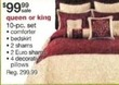 Sears Queen or King 10-pc. Bedding Set
