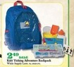 Mills Fleet Farm Kids Fishing Adventure Backpack