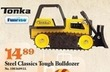 Mills Fleet Farm Tonka Steel Classics Tough Bulldozer