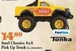 Mills Fleet Farm Tonka Steel Classics 4x4 Pick Up Truck