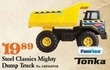 Mills Fleet Farm Tonka Steel Classics Mighty Dump Truck