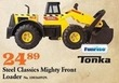 Mills Fleet Farm Tonka Steel Classics Mighty Front Loader