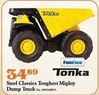 Mills Fleet Farm Tonka Steel Classic Toughest Mighty Dump Truck