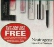 RiteAid Neutrogena Lip or Eye Products w/ Wellness Card