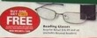 RiteAid Reading Glasses w/ Wellness Card