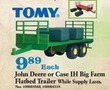 Mills Fleet Farm Tomy John Deere Big Farm Flatbed Trailer