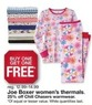Kmart Joe Box Women's Thermals + 25% Off Chill Chasers