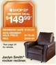 Kmart Jaclyn Smith Recliner - Member Deal