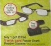 Walgreens Foster Grant Reader Glasses