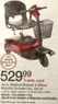 Walgreens Drive Medial Bobcat 3-wheel Mobility Scooter