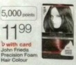 Walgreens John Frieda Precision Foam Hair Colour