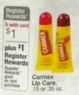 Walgreens Carmex Lip Care .15 oz + $1 Register Rewards