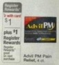 Walgreens Advil PM Pain Relief 1ct.