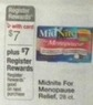 Walgreens Midnite For Menopause Relief 28 ct. + $7 Register Rewards
