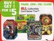 Toys R Us All Collectable Card Game Tins