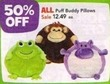 Toys R Us All Puff Buddy Pillows