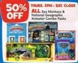 Toys R Us All Sea Monkey Combo Packs