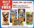Toys R Us All Collectible Card Games & Sports Boosters