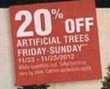 Home Depot Artificial Trees