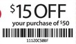 Half Price Books $50+ Purchase - Printable Coupon