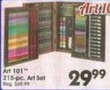 A.C. Moore Art 101 215 Piece Art Set