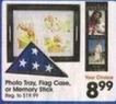 A.C. Moore Photo Tray, Flag Case or Memory Stick