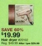 Sears Outlet Hair Dryer