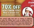 Sears Outlet Craftsman Tools