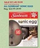 PetSmart All Sunbeam Sonic Eggs w/ PetPerks Card