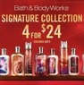 Navy Exchange Bath and Body Works Signature Collection