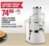 Navy Exchange Jack Lalanne Power Juicer Express