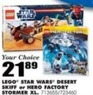 Blain's Farm and Fleet Lego Star Wars Desert Skiff
