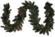 Ace Hardware 9ft Pre-Lit Great Falls Premium Garland - Multi-Color Lights